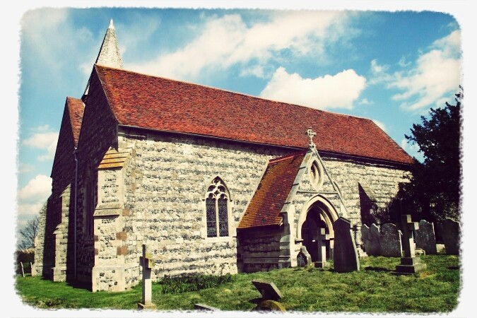 Walks And Walking - St Marys Church Higham Kent
